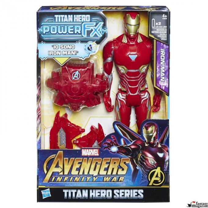 Titan Hero Iron Man Pack 02