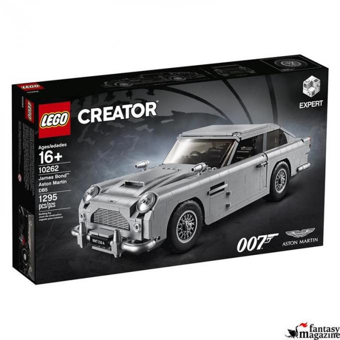 LEGO Creator Expert James Bond™ Aston Martin DB5