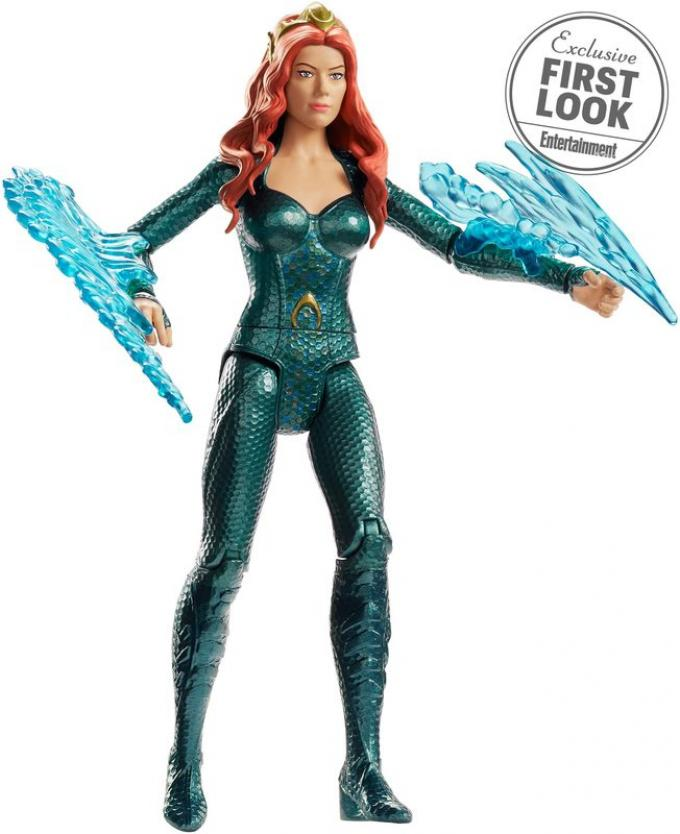 Action figure di Mera della Mattel. [foto: Entertainment Weekly]