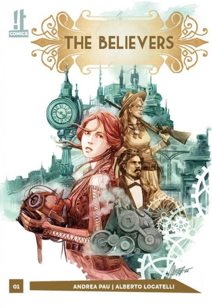 La copertina del primo volume di The Believers