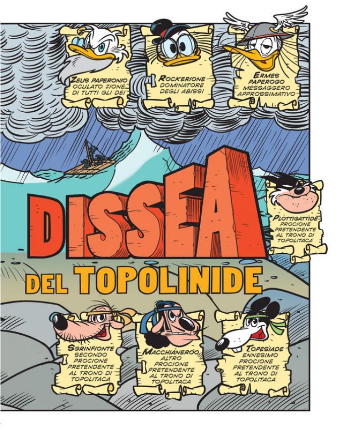 Topdissea: il ritorno del topolinide