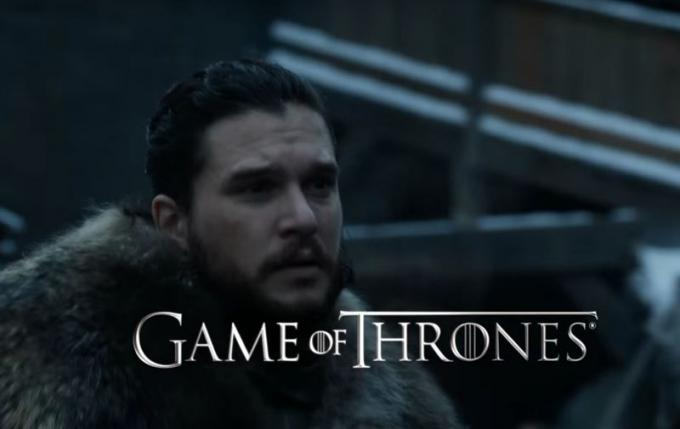Kit Harington in Game of Thrones: stagione 8