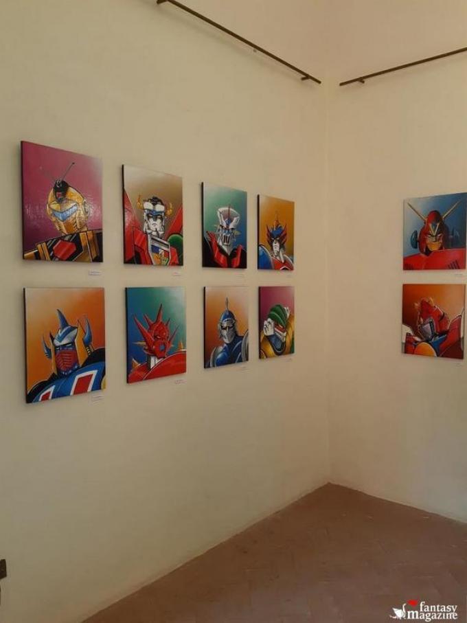 La mostra Trashformers a Fantastika, Dozza (BO)