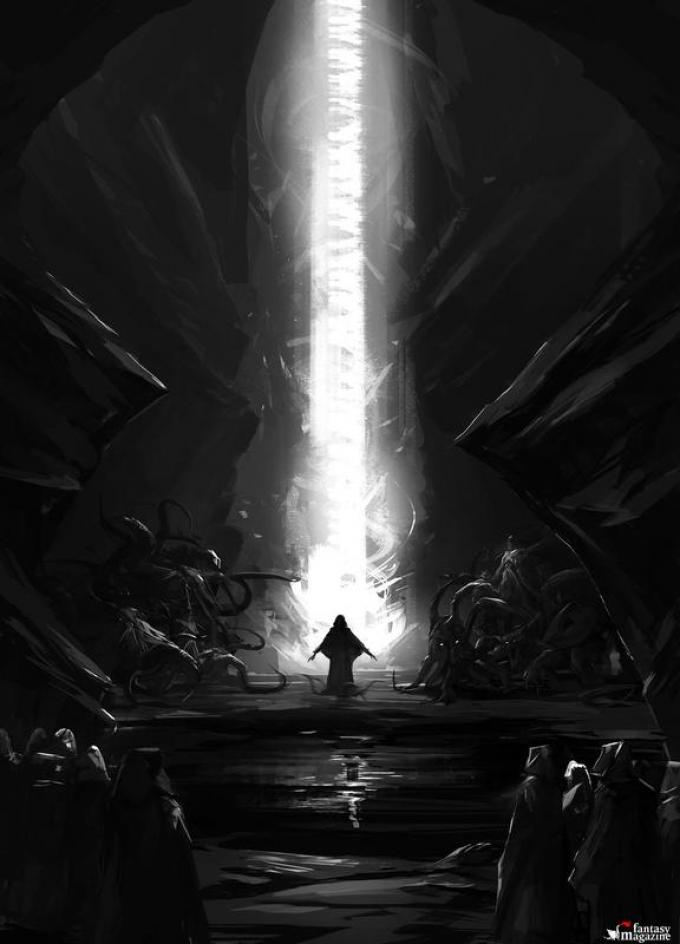 Necronomicon - Disegno di Alberto Dal Lago