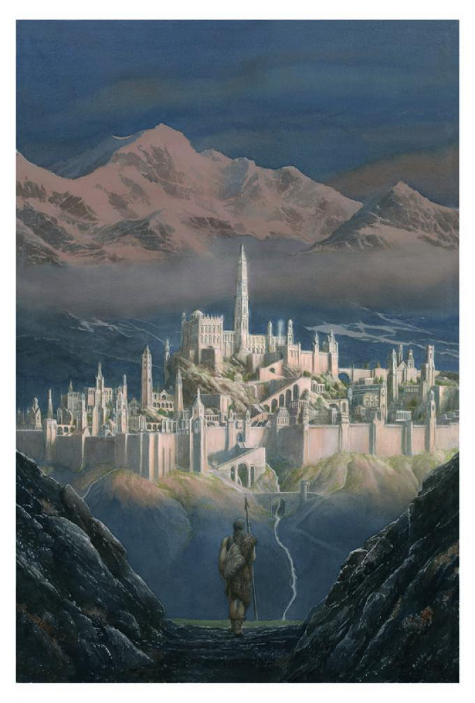Frontispiece - Alan Lee_Copyright © Alan Lee. Courtesy HarperCollins Publishers Ltd and Bompiani - Giunti Editore S.p.A