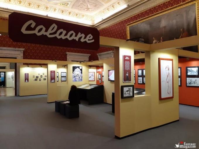 La mostra di Sara Colaone al Palazzo Ducale a Lucca Comics and Games.