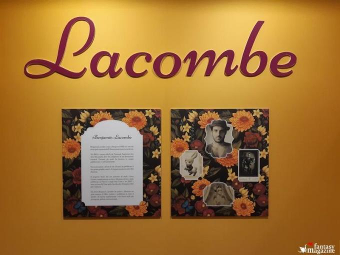 La mostra di Benjamin Lacombe al Palazzo Ducale a Lucca Comics and Games.