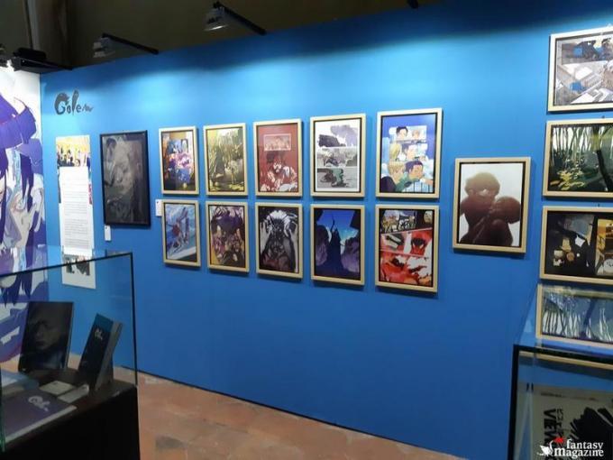 La mostra di Lorenzo Ceccotti, in arte LRNZ, al Palazzo Ducale a Lucca Comics and Games.