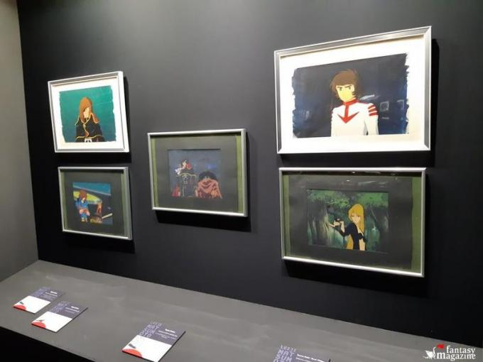 La mostra di Leiji Matsumoto al Palazzo Ducale a Lucca Comics and Games.