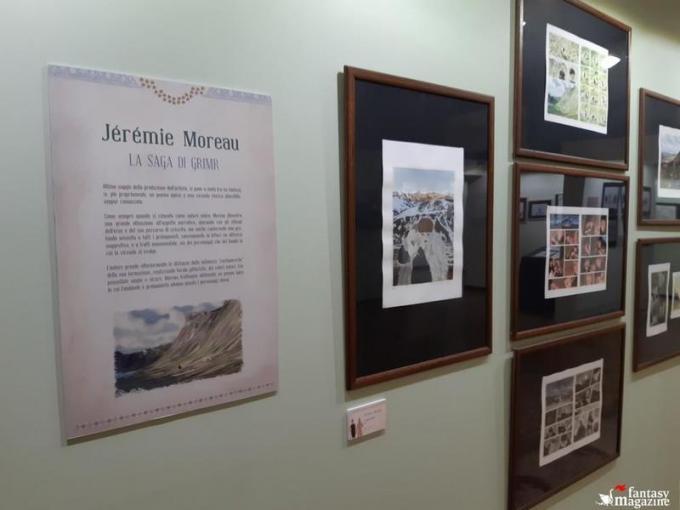 La mostra di J�r�mie Moreau  al Palazzo Ducale a Lucca Comics and Games.