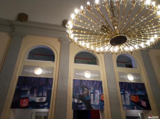 Il foyer del teatro