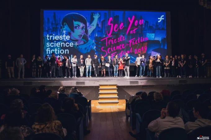 In conclusione, un applauso a chi ha reso possibile il festival (foto cortesia Trieste Science Plus Fiction)