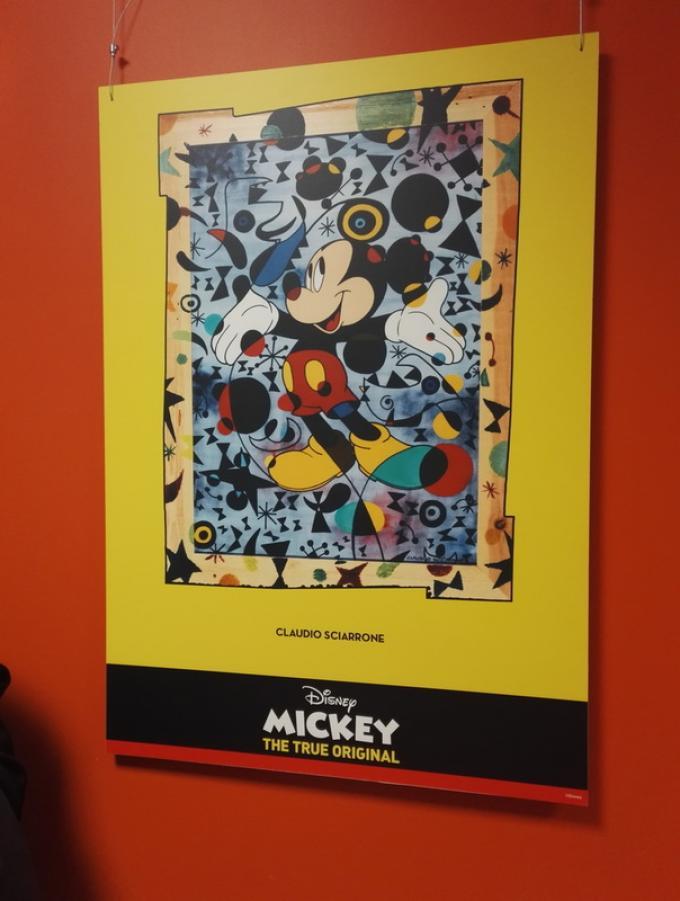 La mostra delle opere Disney ispirate alla storia dell'arte al Niguarda di Milano.