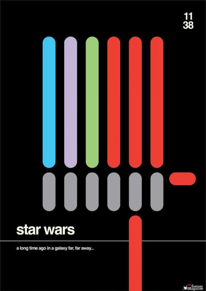 STAR WARS   guerre stellari / / /  tanto tempo fa, in una galassia lontana lontana... � 2018 Shortology / H-57