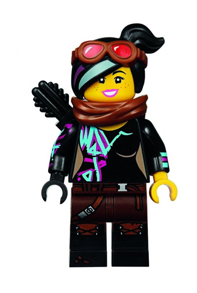 THE LEGO MOVIE 2 - WARRIOR LUCY
