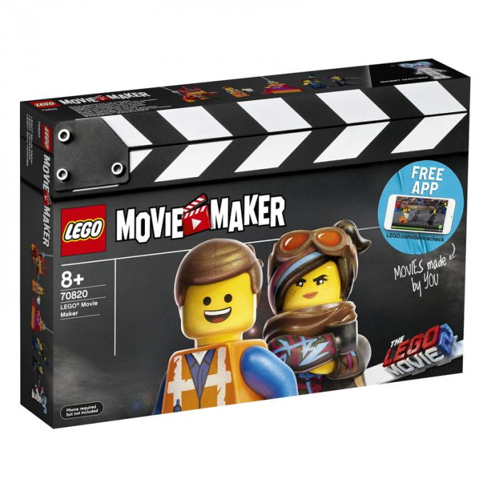 70820 LEGO® Movie Maker, Età 8+, 482 pezzi, Euro 54,99