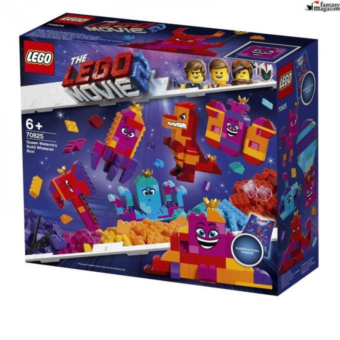 70825 La scatola 'costruisci quello che vuoi' della Regina Wello Ke Wuoglio! Et� 6+, 455 pezzi Euro 44 ,99