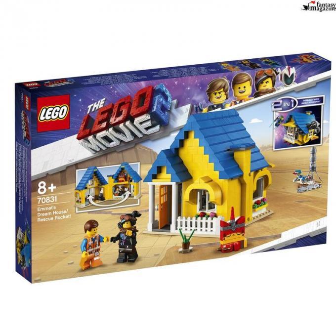 70831 La casa dei sogni/Razzo di soccorso di Emmet, Et� 8+, 706 pezzi Euro 59,99