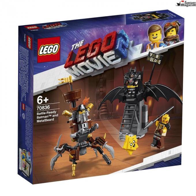 70836 Batman� pronto alla battaglia e Barbacciaio, Et� 6+, 168 pezzi, Euro 19,99