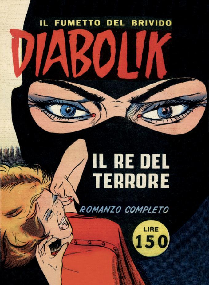 Cover IL RE DEL TERRORE per Diabolik Sono Io