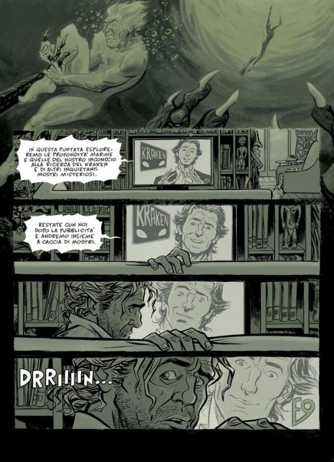 Kraken - Tavola di Bruno Cannucciari