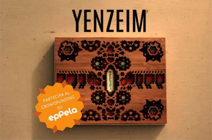la copertina di Yenzeim.