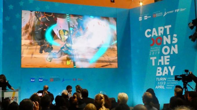Anteprima della serie animata Dragonero a Cartoons on the Bay.