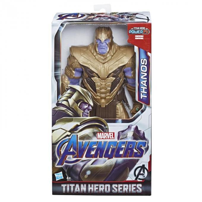 HASBRO - Deluxe Titan Heroes - Warrior Thanos (1)