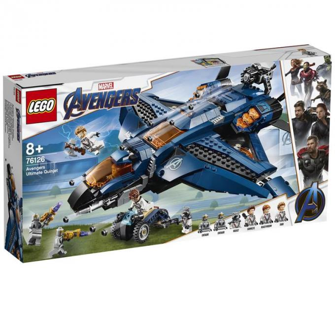 LEGO - Quinjet front box