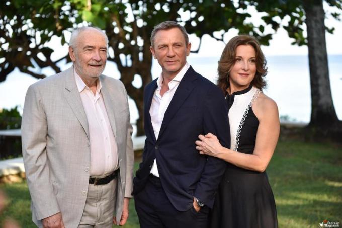 Michael G. Wilson, Daniel Craig, Barbara Broccoli