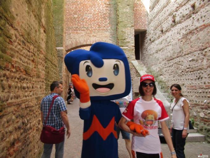 Movy, la mascotte di Movieland