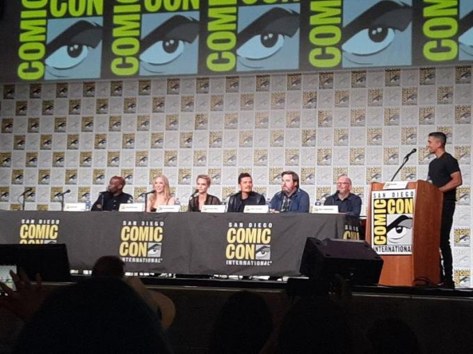 Il panel di Carnival Crow al San Diego Comic-Con 2019. Foto di Elisabetta Di Minico