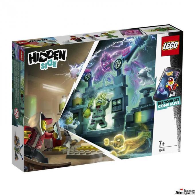 LEGO Hidden Side: 70418 Il laboratorio spettrale di J.B.