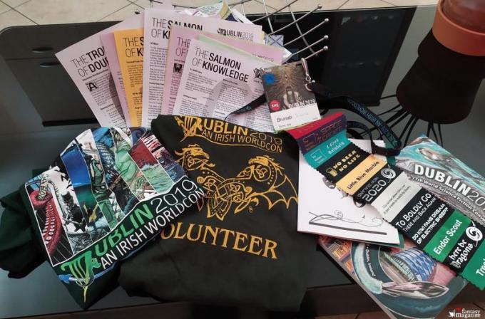 Badge Ribbon Maglietta volontari e altro