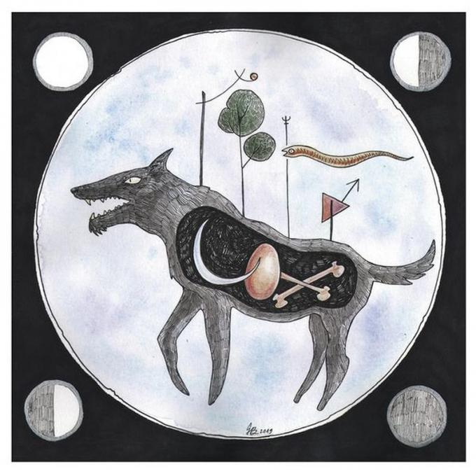 """""""Luna falcata fra correnti nubi alta sul ciglio di rupi nere."""" - Sibilla Aleramo  © Ginevra Ballati"""