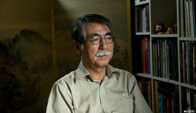 VG&J Prof Shigeru Oikawa Tokyo � EXHIBITION ON SCREEN (David Bickerstaff)