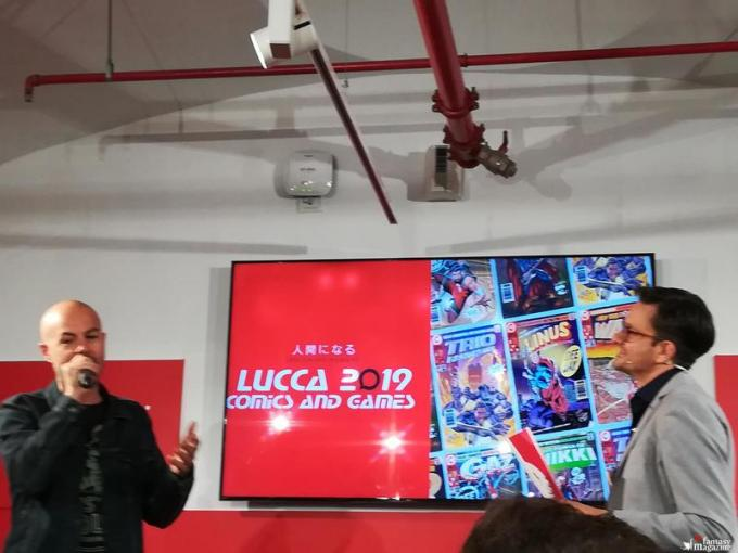 Conferenza stampa di Lucca Comics and Games 2019