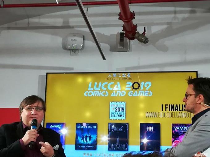 Conferenza stampa di Lucca Comics and Games 2019