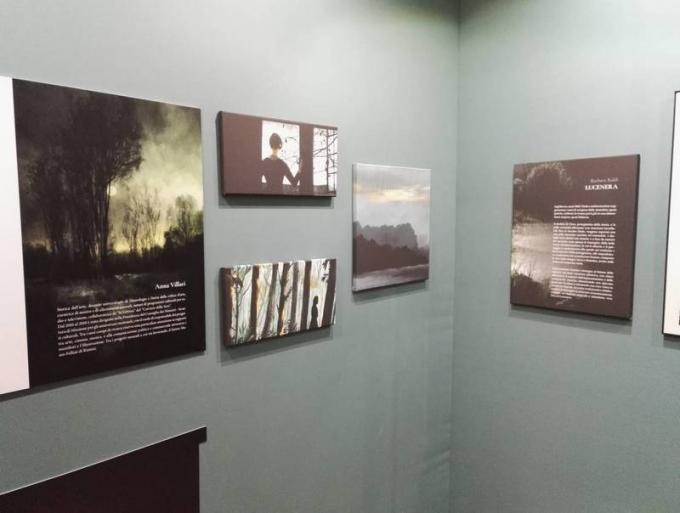 La mostra di Barbara Baldi al Palazzo Ducale a Lucca Comics and Games 2019.