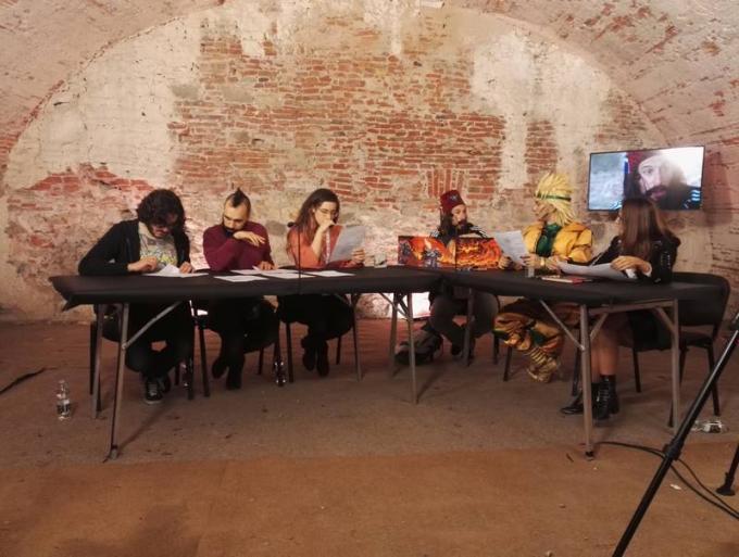 RPG Night Live Special D&D. Il gioco comincia! Antonio Bellotta, Fabio Kenobit Bortolotti, CKibe, Nicola De Gobbis, Leon Chiro ed Emanuela Pacotto