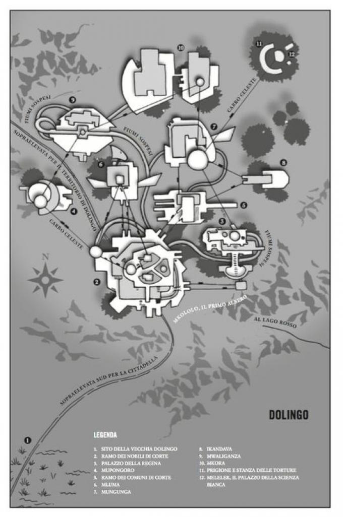 Dolingo - Mappa di Marlon James