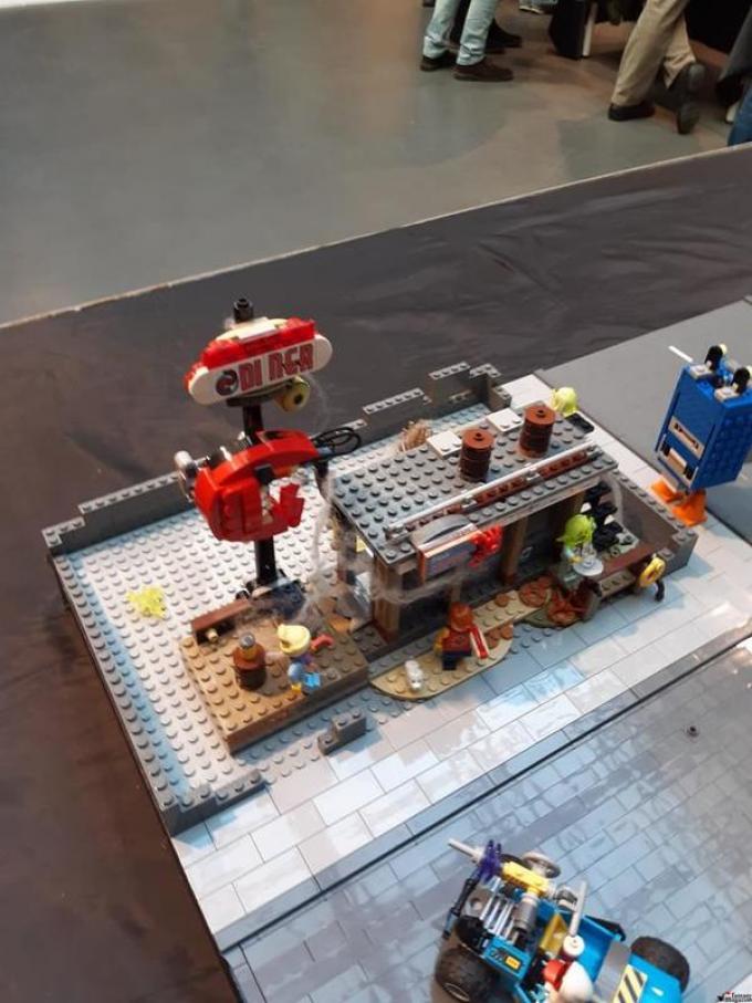 Presentazione LEGO HIDDEN SIDE. Foto di Ernesto Tangari