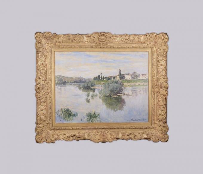 Monet - La Seine à Lavacourt - 1878