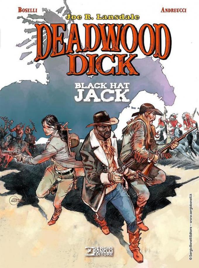 Deadwood Dick. Black Hat Jack. Copertina di Stefano Andreucci.