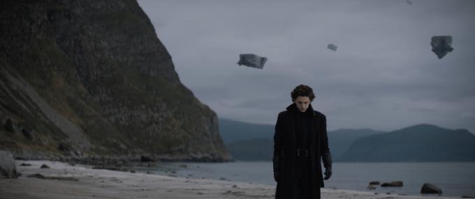 Timothée Chalamet (Paul Atreides) in Dune