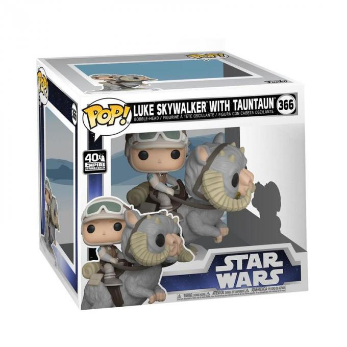 Funko Pop  Deluxe Luke On Taun Taun