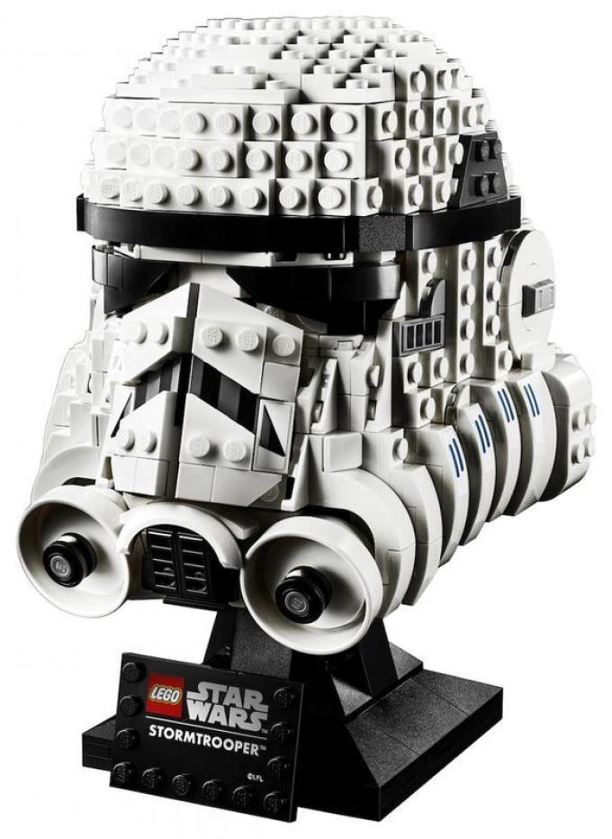Stormtrooper Helmet By Lego  2