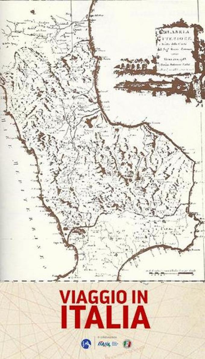 Le cartine storiche di Viaggio in Italia - Calabria