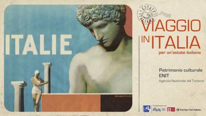 Le locandine turistiche di Viaggio in Italia - Patrimonio culturale ENIT Agenzia Nazionale del Turismo