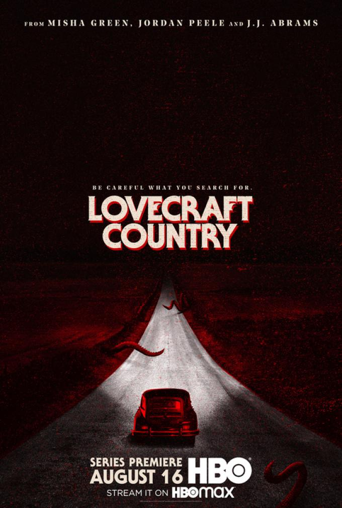 Teaser poster Lovecraft Country. Photograph by Courtesy of HBO